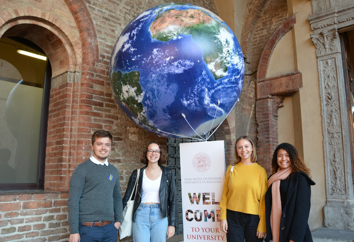 Welcome Day International students - Palazzo Re Enzo - Piazza Nettuno - Bologna - 7 ottobre 2019