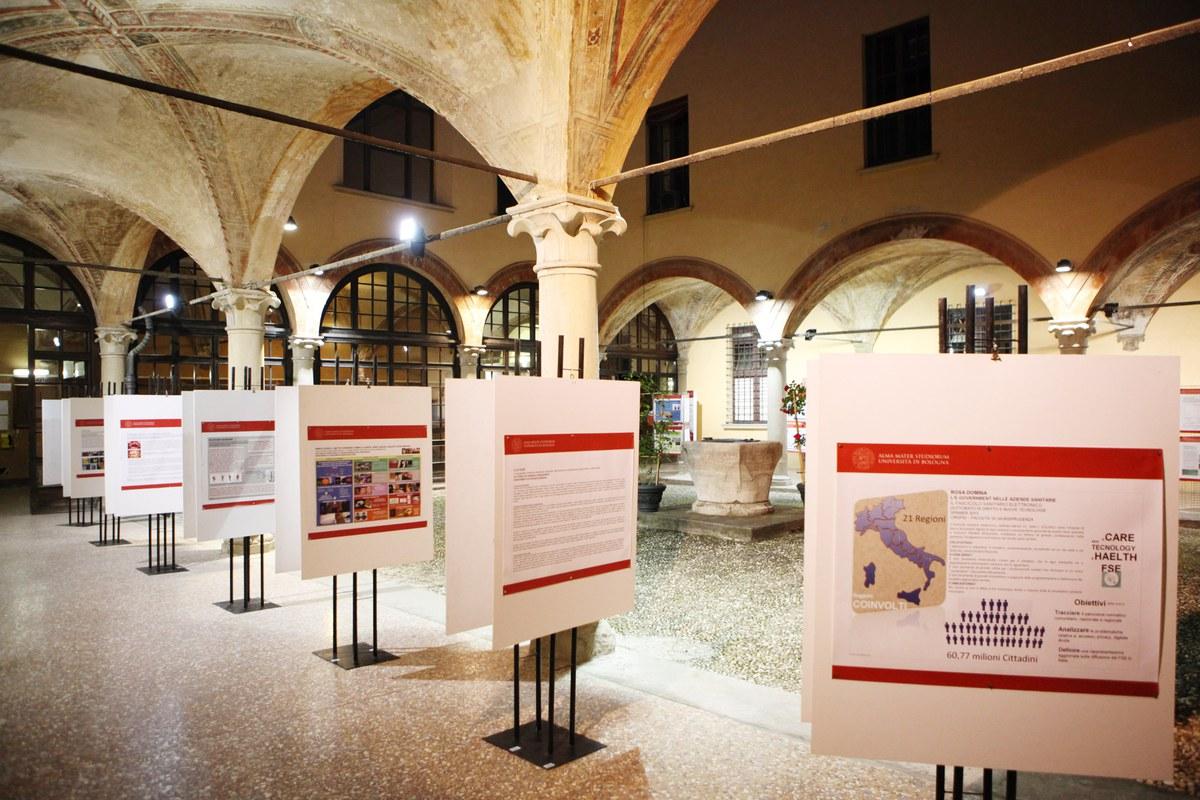 Palazzo Poggi - via Zamboni 33 - Bologna - evento per la promozione del 5x1000 all'Ateneo - 11 maggio 2013
